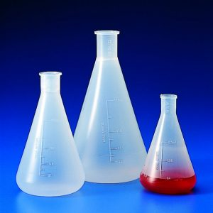 CONICAL ERLENMEYER FLASKS PP   | 1 lt