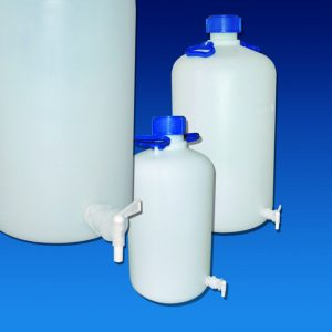 ASPIRATOR BOTTLES HDPE with Tap Cat. 375   | 10 lt