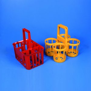 BOTTLE CARRIER HDPE for Bottles with Max. Dia. of 120 mm   | 4 Place