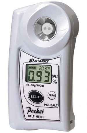ATAGO Handheld Digital Pocket Salt Meter